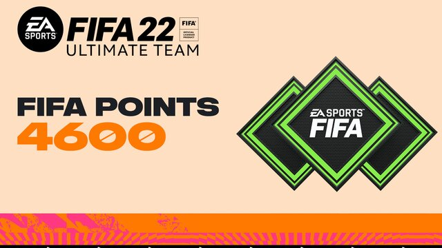 FIFA 22 Ultimate Team - 4600 очков FIFA Points
