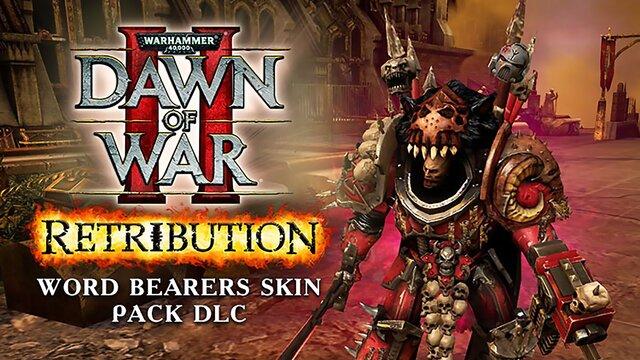 Warhammer 40,000 : Dawn of War II - Retribution - Word Bearers Skin Pack