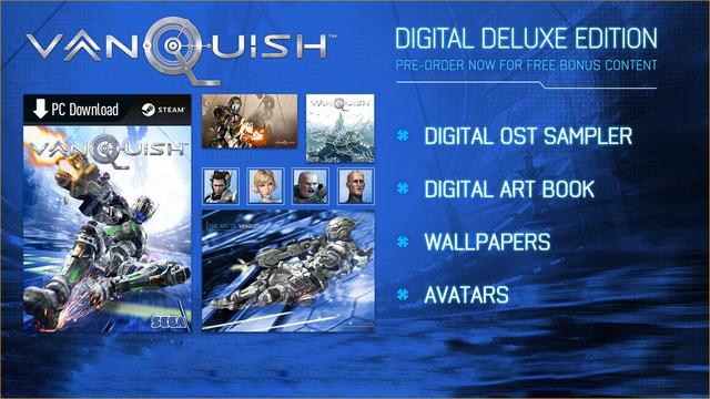 Vanquish - Digital Deluxe Edition