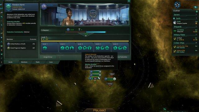 Stellaris: Federations