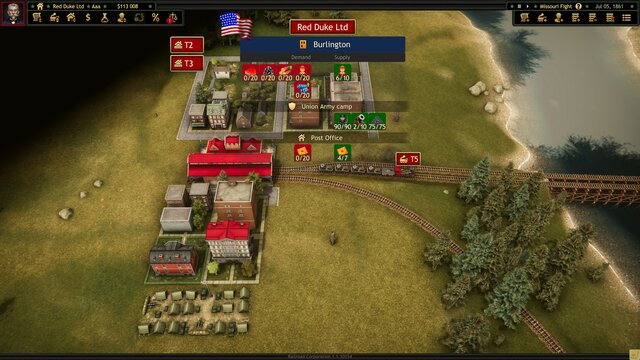 Railroad Corporation - Civil War