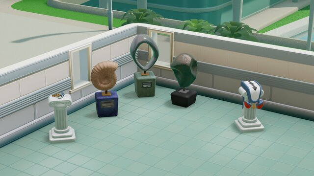 Two Point Hospital: Exhibition Items Pack