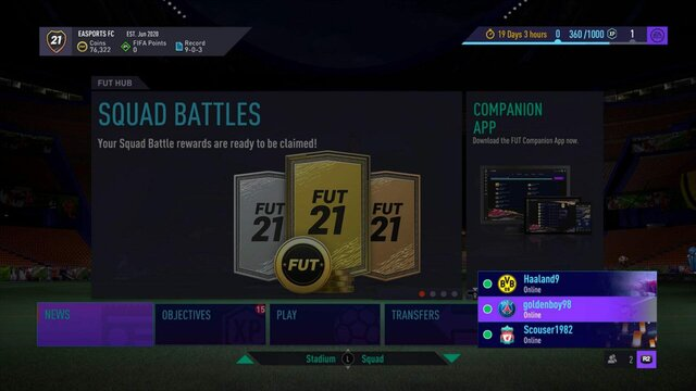 FIFA 21 Ultimate Team - 100 очков FIFA Points