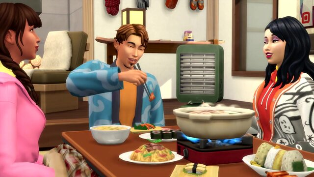 The Sims 4 - Snowy Escape Expansion Pack