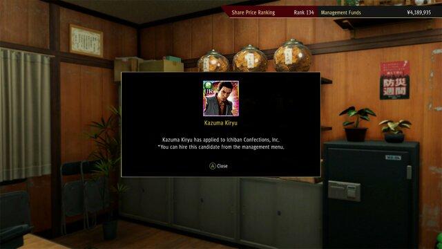 Yakuza: Like a Dragon - Management Mode Set