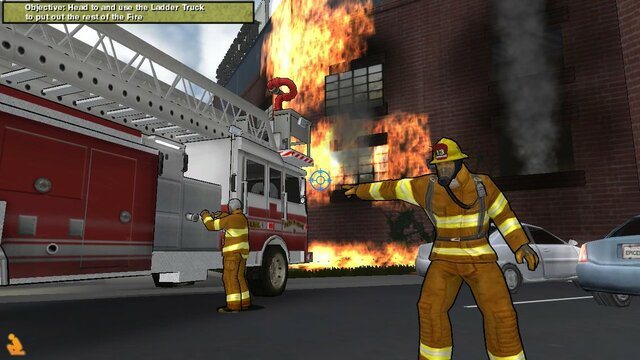Real Heroes: Firefighter HD