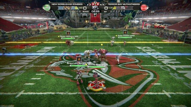 Mutant Football League - Terror Bay Mutantneers