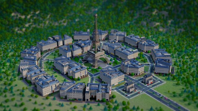 SimCity: French City Set