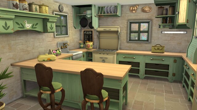 The Sims 4: Country Kitchen Kit