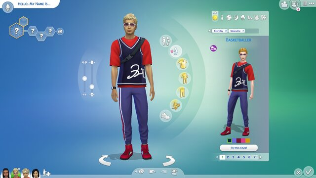 The Sims 4: Throwback Fit Kit