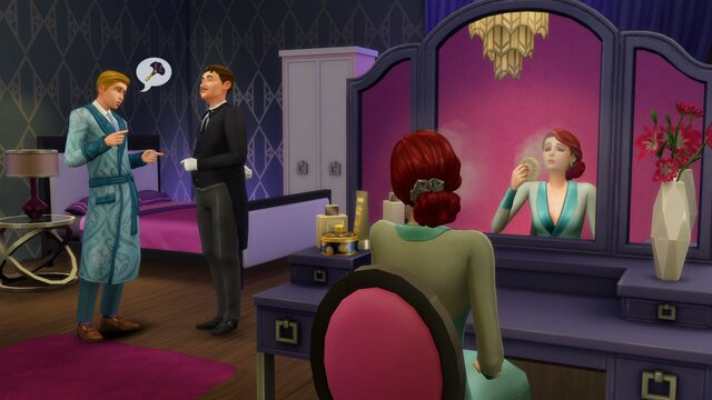 The Sims 4: Vintage Glamour Stuff