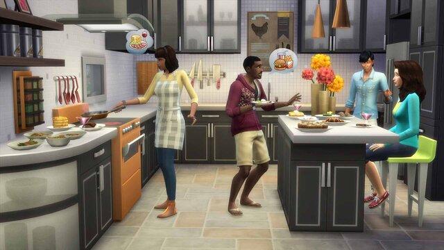 The Sims 4: Cool Kitchen Stuff