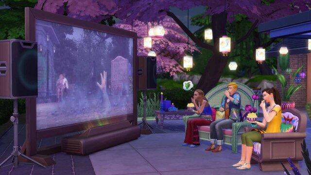 The Sims 4: Movie Hangout Stuff