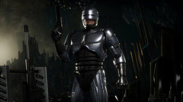 Mortal Kombat 11 - Robocop