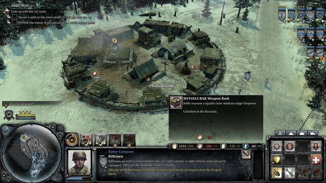 Company of Heroes 2 - Ardennes Assault: Fox Company Rangers