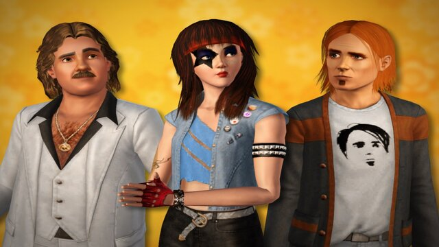 The Sims 3 - 70's, 80's and 90's