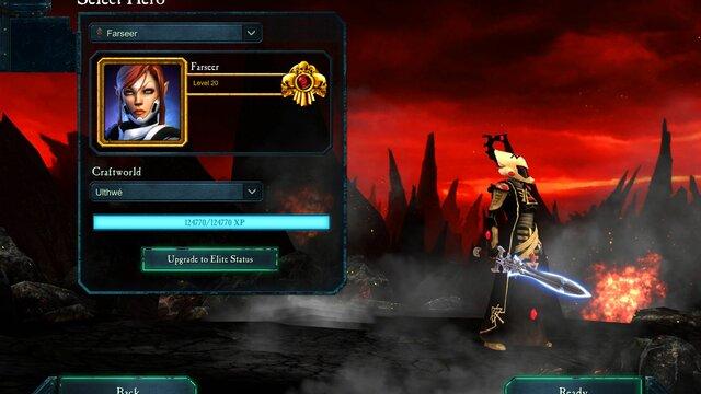 Warhammer 40,000 : Dawn of War II - Retribution - Farseer Wargear